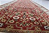 Isfahan Red Runner Hand Knotted 27 X 123  Area Rug 250-22502 Thumb 12
