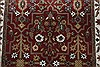 Isfahan Red Runner Hand Knotted 27 X 123  Area Rug 250-22502 Thumb 3