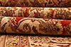 Isfahan Beige Hand Knotted 52 X 78  Area Rug 100-22505 Thumb 5