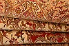 Isfahan Beige Hand Knotted 52 X 78  Area Rug 100-22505 Thumb 6