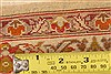Isfahan Beige Hand Knotted 52 X 78  Area Rug 100-22505 Thumb 7