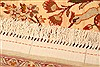 Isfahan Beige Hand Knotted 52 X 78  Area Rug 100-22505 Thumb 8