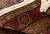 Tabriz Red Hand Knotted 37 X 53  Area Rug 100-22531 Thumb 5