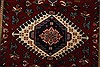 Karajeh Red Runner Hand Knotted 26 X 119  Area Rug 250-22557 Thumb 4