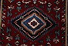 Karajeh Red Runner Hand Knotted 26 X 119  Area Rug 250-22557 Thumb 5