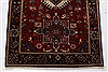 Karajeh Red Runner Hand Knotted 26 X 119  Area Rug 250-22557 Thumb 6