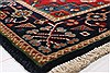 Karajeh Red Runner Hand Knotted 26 X 119  Area Rug 250-22557 Thumb 8