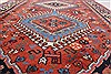 Yalameh Red Runner Hand Knotted 28 X 99  Area Rug 250-22630 Thumb 10