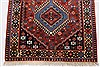 Yalameh Red Runner Hand Knotted 28 X 99  Area Rug 250-22630 Thumb 14