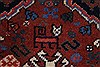 Yalameh Red Runner Hand Knotted 28 X 99  Area Rug 250-22630 Thumb 8