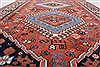 Yalameh Red Runner Hand Knotted 28 X 99  Area Rug 250-22630 Thumb 9