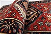 Karajeh Red Runner Hand Knotted 21 X 99  Area Rug 250-22651 Thumb 13