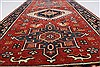 Karajeh Red Runner Hand Knotted 21 X 99  Area Rug 250-22651 Thumb 4