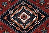 Karajeh Red Runner Hand Knotted 21 X 99  Area Rug 250-22651 Thumb 6