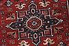 Karajeh Red Runner Hand Knotted 21 X 99  Area Rug 250-22651 Thumb 7