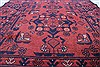 Bokhara Red Runner Hand Knotted 29 X 95  Area Rug 250-22726 Thumb 2