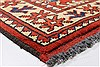 Turkman Brown Runner Hand Knotted 29 X 93  Area Rug 250-22739 Thumb 6