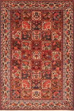 Persian Bakhtiar Multicolor Rectangle 5x7 ft Wool Carpet 22742