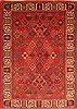 Maymeh Red Hand Knotted 47 X 66  Area Rug 100-22745 Thumb 0