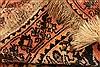 Qashqai Orange Hand Knotted 51 X 66  Area Rug 100-22816 Thumb 5