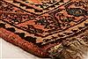 Qashqai Orange Hand Knotted 51 X 66  Area Rug 100-22816 Thumb 9