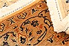 Tabriz Beige Hand Knotted 42 X 510  Area Rug 100-22850 Thumb 6