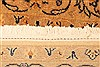 Tabriz Beige Hand Knotted 42 X 510  Area Rug 100-22850 Thumb 9