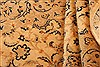 Tabriz Beige Hand Knotted 42 X 510  Area Rug 100-22851 Thumb 5