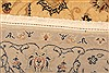 Tabriz Beige Hand Knotted 33 X 411  Area Rug 100-22854 Thumb 8