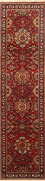 Indian Kashmir Red Runner 10 to 12 ft Wool Carpet 22920