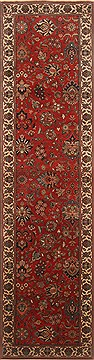 Indian Kashmir Red Runner 10 to 12 ft Wool Carpet 22942