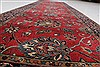 Kashmir Red Runner Hand Knotted 27 X 95  Area Rug 250-22944 Thumb 11