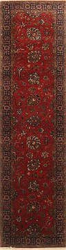 Indian Kashmir Red Runner 6 to 9 ft Wool Carpet 22944