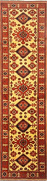 "Turkman Yellow Runner Hand Knotted 2'9"" X 10'3""  Area Rug 250-23000"