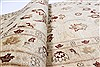 Chobi Beige Runner Hand Knotted 26 X 98  Area Rug 250-23034 Thumb 11