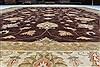 Pishavar Brown Hand Knotted 121 X 1410  Area Rug 250-23057 Thumb 1