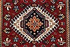 Karajeh Red Runner Hand Knotted 26 X 100  Area Rug 250-23119 Thumb 3