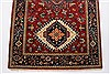 Karajeh Red Runner Hand Knotted 26 X 100  Area Rug 250-23119 Thumb 4