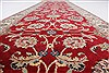 Isfahan Red Runner Hand Knotted 27 X 910  Area Rug 250-23125 Thumb 3
