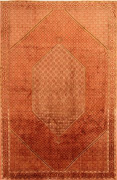 "Bidjar Red Hand Knotted 6'7"" X 10'0""  Area Rug 100-23200"