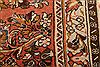 Sarouk Red Hand Knotted 85 X 87  Area Rug 100-23265 Thumb 10