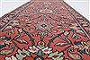 Kashan Purple Runner Hand Knotted 26 X 710  Area Rug 250-23385 Thumb 1