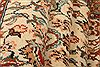 Sarouk Beige Runner Hand Knotted 28 X 108  Area Rug 100-23492 Thumb 3
