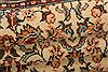Sarouk Beige Runner Hand Knotted 28 X 108  Area Rug 100-23492 Thumb 5