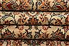 Sarouk Beige Runner Hand Knotted 28 X 108  Area Rug 100-23492 Thumb 6
