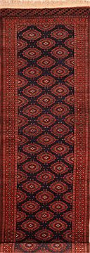"Pak-Persian Brown Runner Hand Knotted 3'0"" X 9'7""  Area Rug 100-23630"