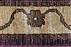 Chobi Purple Runner Hand Knotted 27 X 96  Area Rug 250-23755 Thumb 4