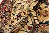 Isfahan Beige Hand Knotted 95 X 130  Area Rug 100-23773 Thumb 3