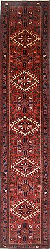 Persian Karajeh Red Runner 10 to 12 ft Wool Carpet 23840