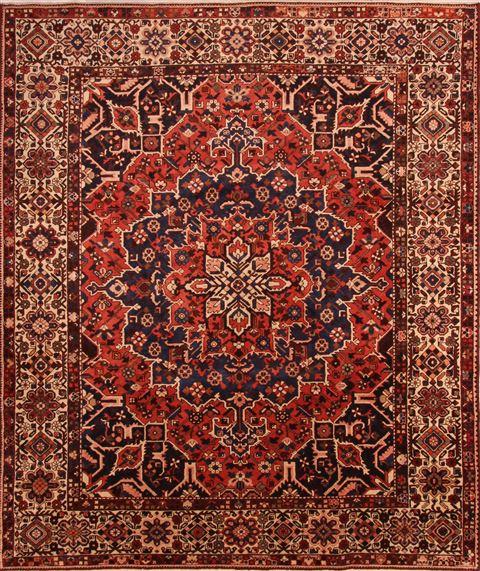 Rectangle 10x12 Ft Wool Carpet 23910